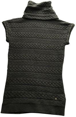 Carolina Herrera Green Wool Top for Women