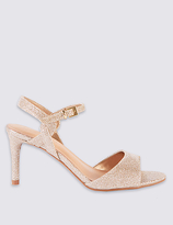 M&S Collection Stiletto Sparkle Sandals with Insolia®