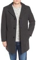 Pendleton Manhattan Herringbone Wool Blend Reefer Coat