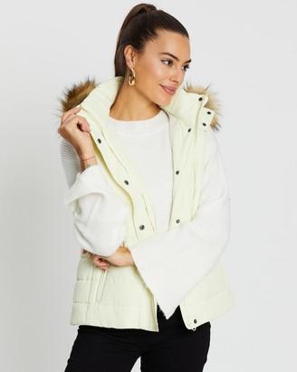 Atmos & Here Sleeveless Short Puffer Vest