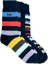 Pringle 3 Pack Zig Zag Stripe Socks