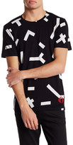 Eleven Paris ELEVENPARIS Storm Camo Graphic Crew Neck T-Shirt
