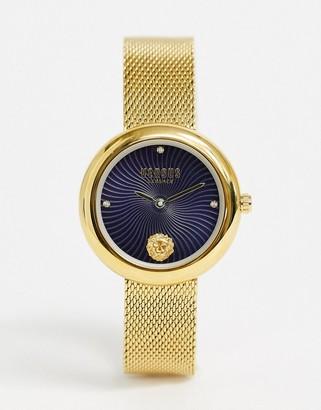 Versace Lea bracelet watch in gold
