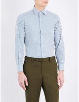 United Arrows Stripe-print cotton shirt