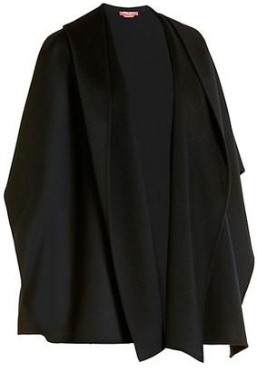 Marina Rinaldi, Plus Size Sakai Double Wool Hooded Cape