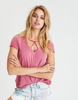 American Eagle Outfitters AE Soft & Sexy Triangle T-Shirt