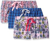 Bottoms Out Women's 3-Pack Woven Boxers