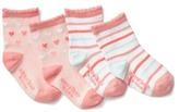 Gap Hearts scalloped socks (2-pairs)