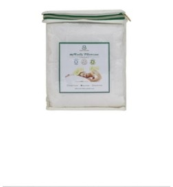 Sleep & Beyond Mywoolly, Natural Washable Wool Filled Pillow Case, Queen