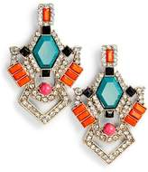 Adia Kibur Crystal & Stone Earrings
