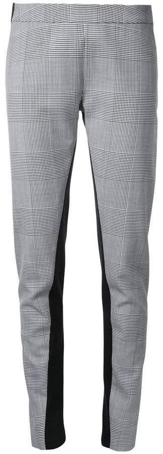 Gareth Pugh glen plaid leggings