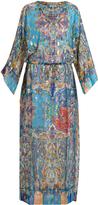 Etro Paisley-print silk-blend georgette dress