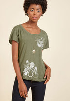 ModCloth Love You Like Paisley T-Shirt in L