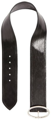 Max Mara Wide Leather Belt