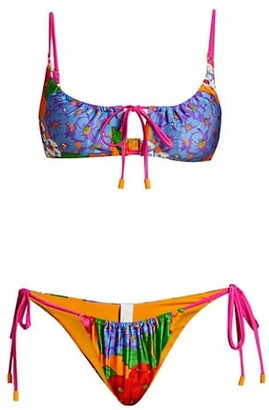 Zimmermann Riders 2-Piece Drawcord Bikini Set