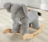 Pottery Barn Kids Elephant Plush Rocker