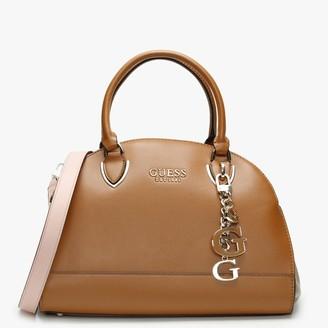 GUESS Sherol Cali Cognac Multi Satchel Bag