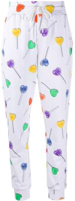 Love Moschino heat lollipop track pants
