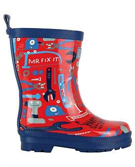 Hatley Mr Fix It Welly Boots