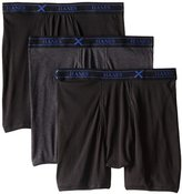 Hanes Men's 3 Pack Ultimate X-Temp Boxer Briefs, Assorted, X-Large