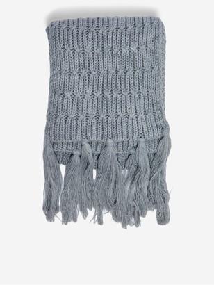 Dorothy Perkins Chunky Knit Scarf - Grey