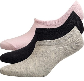 Fruit Cake Fruitcake Womens Invisible Trainer Liners Black Grey Pink