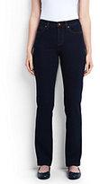 Classic Women's Mid Rise Straight Leg Jeans-Light Khaki
