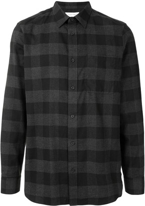 Calvin Klein Plaid Cotton Shirt