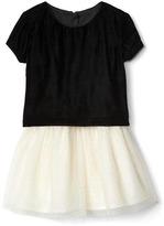 Gap Velvet layer tutu dress
