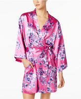 Thalia Sodi Floral-Print Wrap Robe, Only at Macy's