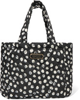 Marc by Marc Jacobs Crosby printed quilted shell tote