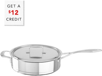 KitchenAid 5Qt Low Sautee Pan With Lid With $12 Credit