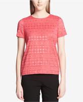 Calvin Klein Lace Knit Top