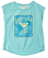 Roxy Girls' Blue Marrakesh T-shirt.