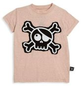 Nununu Toddler's, Little Girl's & Girl's Skull Patch T-Shirt