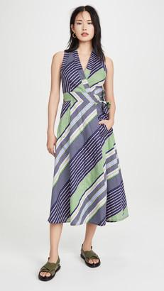 Tory Burch Overprinted Wrap Dress