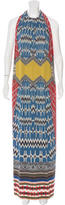 Etro Abstract Print Maxi Dress w/ Tags