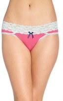 Honeydew Intimates Lace Waistband Hipster Panties