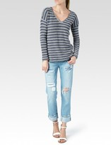 Paige Martine Top - Blue & White Stripe