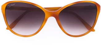 Cartier Double C Decor butterfly-frame sunglasses