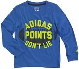 "adidas Boys 4-7x Go-To ""Points Don't Lie"" Football Tee"