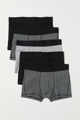 H&M 5-pack Short Boxer Shorts - Black