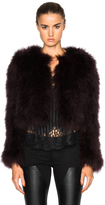Givenchy Feather Jacket