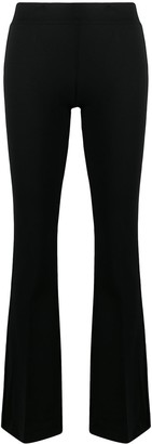 Blanca Vita Flared Slim-Fit Trousers