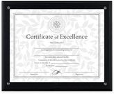 Dax 8.5-Inch x 11-Inch Award Plaque Frame in Black