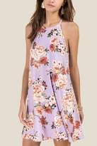 Everly Francine Floral Knit Dress