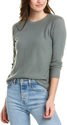 Vince Dropped-Shoulder Cashmere Top