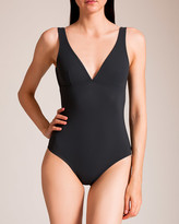 Karla Colletto Basic V Low Back Swimsuit