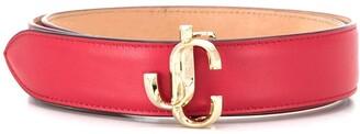 Jimmy Choo Felisa leather belt