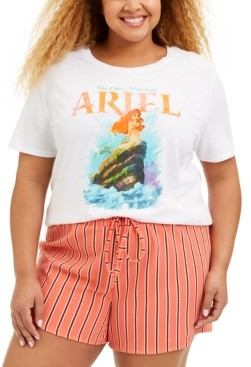 Love Tribe Trendy Plus Size Cotton Ariel T-Shirt